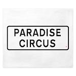 Paradise Circus Sign King Duvet