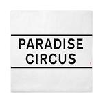 Paradise Circus Sign Queen Duvet