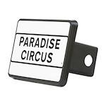 Paradise Circus Sign Rectangular Hitch Cover