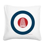 target Square Canvas Pillow