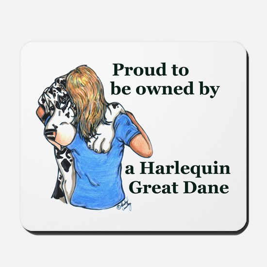 Proud Harl Mousepad