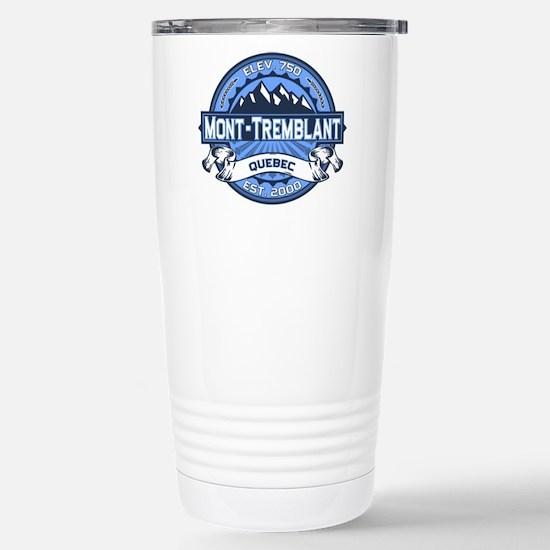 Mont-Tremblant Blue Stainless Steel Travel Mug