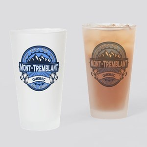 Mont-Tremblant Blue Drinking Glass
