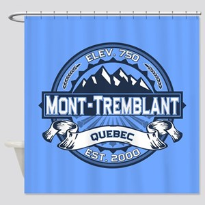 Mont-Tremblant Blue Shower Curtain