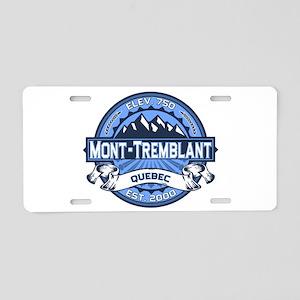 Mont-Tremblant Blue Aluminum License Plate