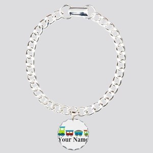 Personalizable Train Cartoon Bracelet