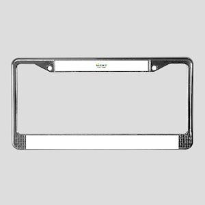 Personalizable Train Cartoon License Plate Frame