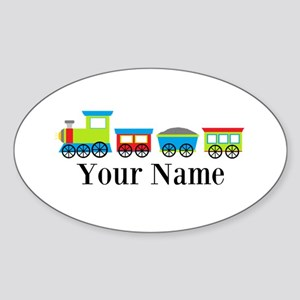 Personalizable Train Cartoon Sticker
