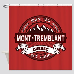 Mont-Tremblant Red Shower Curtain