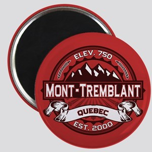Mont-Tremblant Red Magnet
