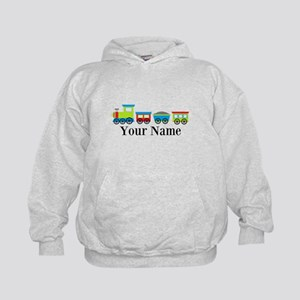 Personalizable Train Cartoon Hoodie
