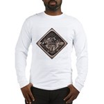Water Meter Lid Squared Long Sleeve T-Shirt