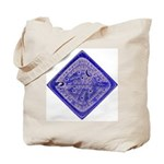 Water Meter Lid Squared Tote Bag