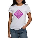 Water Meter Lid Squared Women's T-Shirt