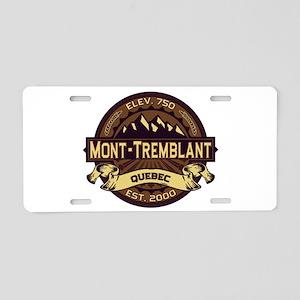 Mont-Tremblant Sepia Aluminum License Plate