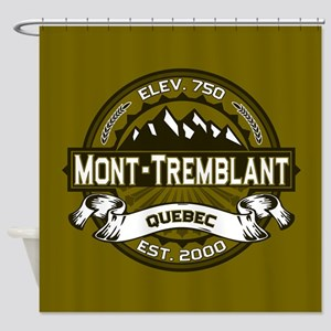 Mont-Tremblant Olive Shower Curtain