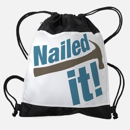 Nailed It Drawstring Bag