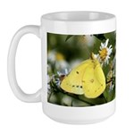 Cloudless Sulfur Butterfly Large Mug