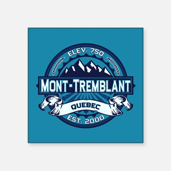 "Mont-Tremblant Ice Square Sticker 3"" x 3"""