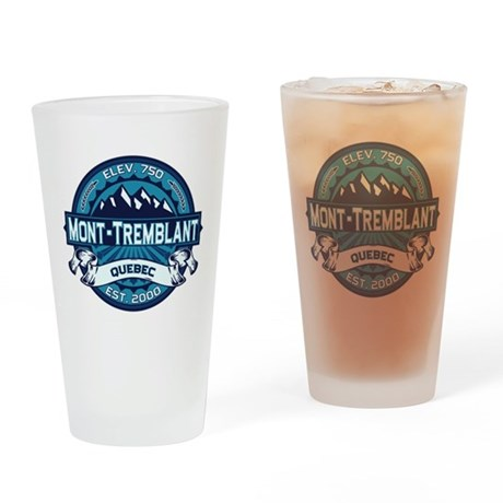 Mont-Tremblant Ice Drinking Glass