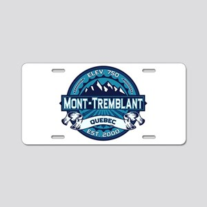 Mont-Tremblant Ice Aluminum License Plate