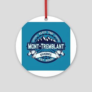 Mont-Tremblant Ice Ornament (Round)