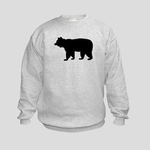 Black bear Kids Sweatshirt