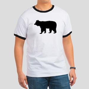 Black bear Ringer T