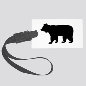 Black bear Large Luggage Tag