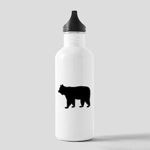 Black bear Stainless Water Bottle 1.0L