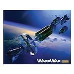 WarpShip Small Poster