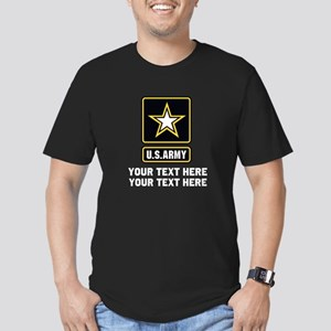 US Army Star Men's Fitted T-Shirt (dark)