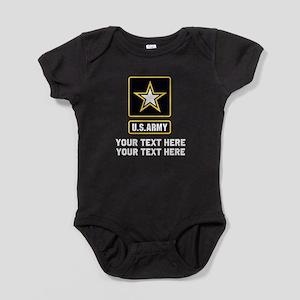 US Army Star Baby Bodysuit