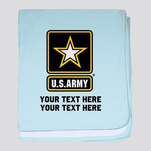 US Army Star baby blanket