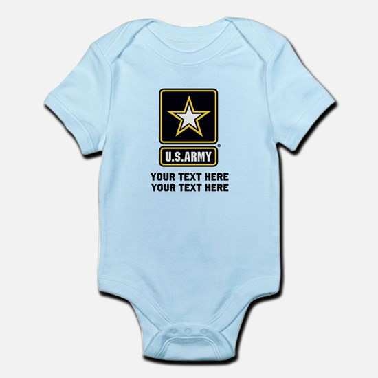 US Army Star Infant Bodysuit