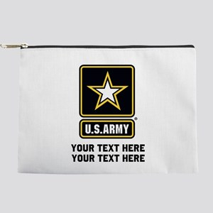 US Army Star Makeup Pouch