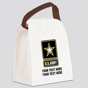 US Army Star Canvas Lunch Bag