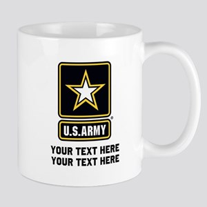 US Army Star 11 oz Ceramic Mug