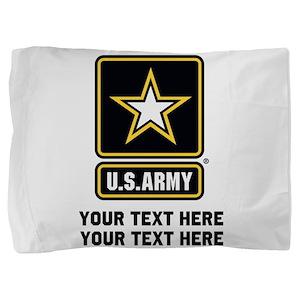 US Army Star Pillow Sham
