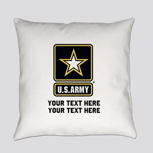 US Army Star Everyday Pillow