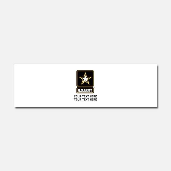 US Army Star Car Magnet 10 x 3