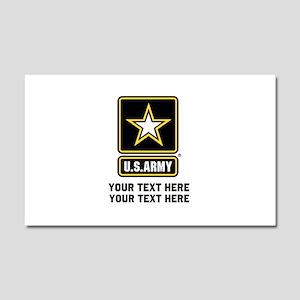 US Army Star Car Magnet 20 x 12