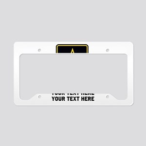 US Army Star License Plate Holder