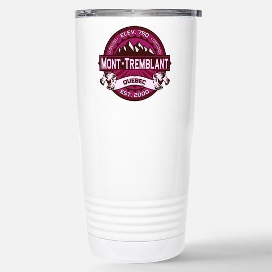 Mont-Tremblant Raspberry Stainless Steel Travel Mu