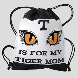Tiger Mom Drawstring Bag