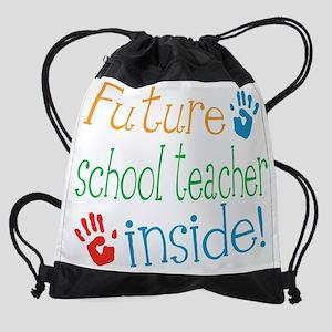 School Teacher Drawstring Bag