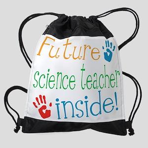 Science Teacher Drawstring Bag