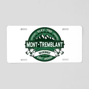 Mont-Tremblant Forest Aluminum License Plate