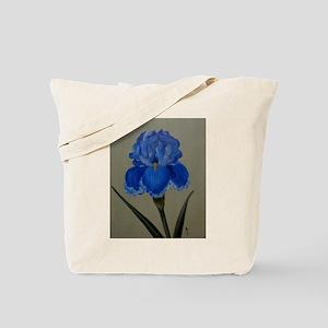 StephanieAM Blue Iris Tote Bag