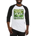 """""""Give Peas a Chance"""" Baseball Jersey"""